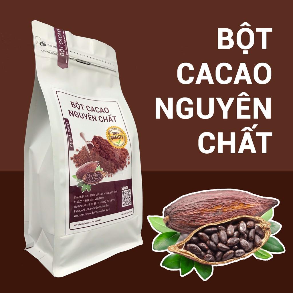 Bột Cacao Đăk Lăk nguyên chất
