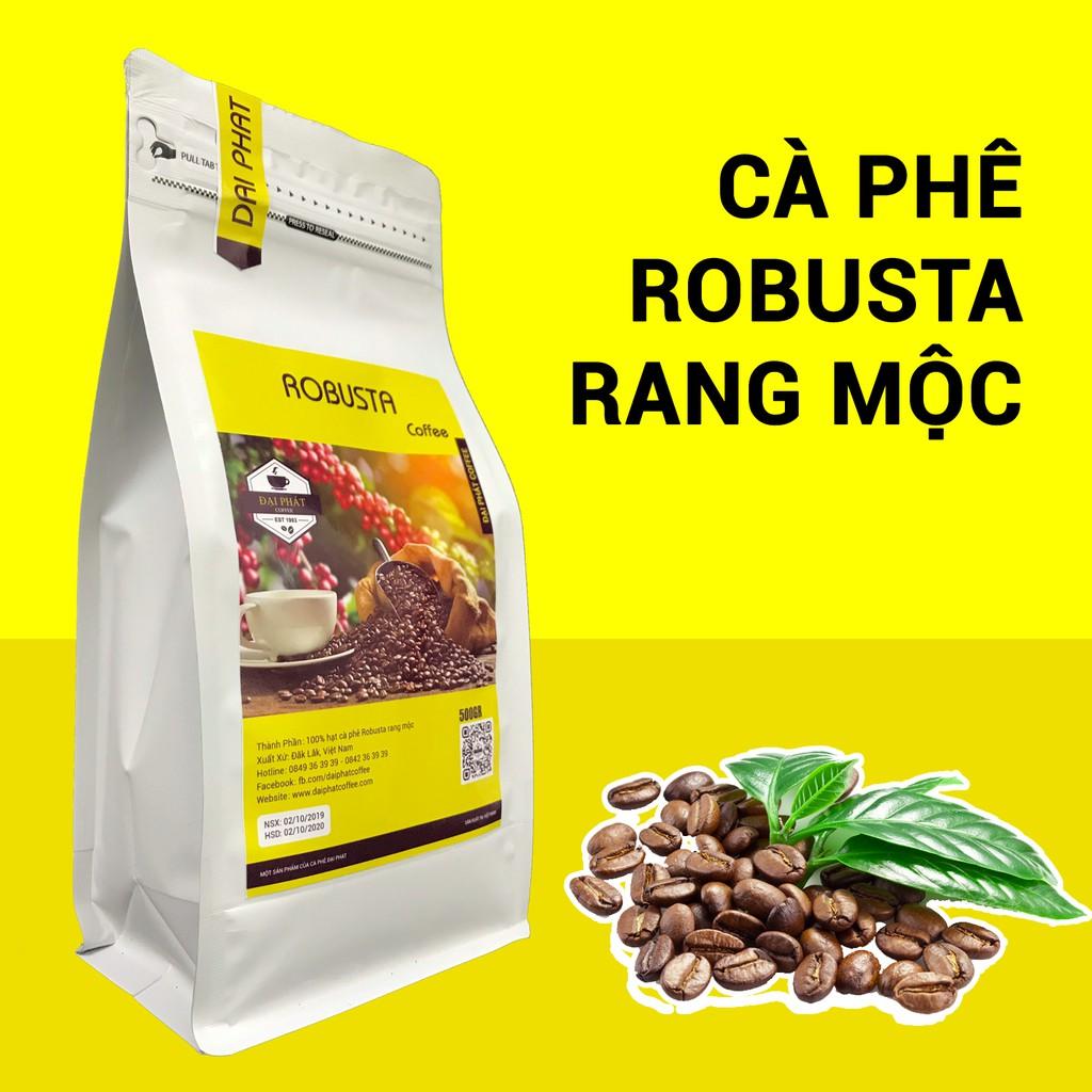 Cà phê Robusta rang xay nguyên chất