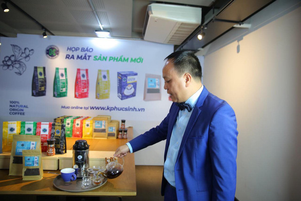 Biến vỏ cà phê thành trà cao cấp, xuất khẩu giá 99 USD/kg