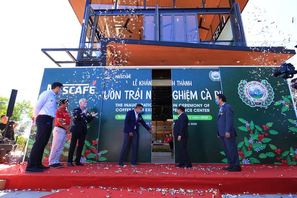 Khánh thành Vườn trải nghiệm cà phê NESCAFÉ WASI tại Tây Nguyên - Ảnh 1.